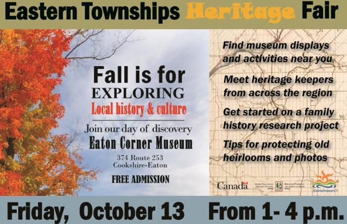QAHN Fall Heritage Fair (October 13, 2017)