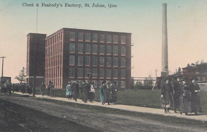 Usine Cluet & Peabody / Cluet & Peabody Factory, Saint-Jean