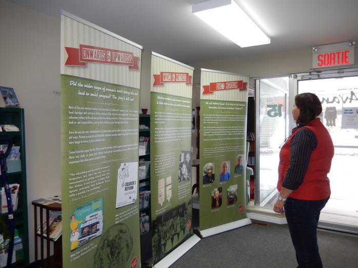 Avante Women's Centre in Bedford Hosts QAHN's Housewife Heroines Exhibition. (Photo - courtesy of Avante)