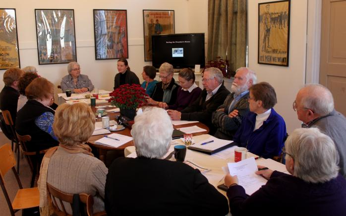 Bi-annual meeting of the English-speaking historical societies of the Eastern Townships. (Photo - MF)