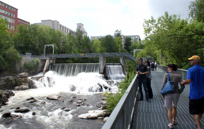 Magog River Falls