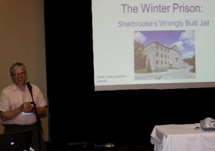 Winter Prison Talk, with Michel Harnois