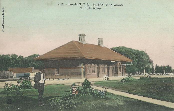 Gare du Grand-Tronc / Grand Trunk Railway Station, Saint-Jean