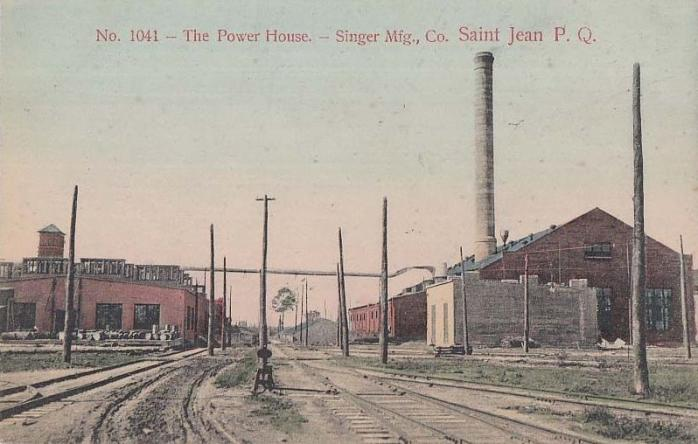 Power House, Singer Manufacturing Company
