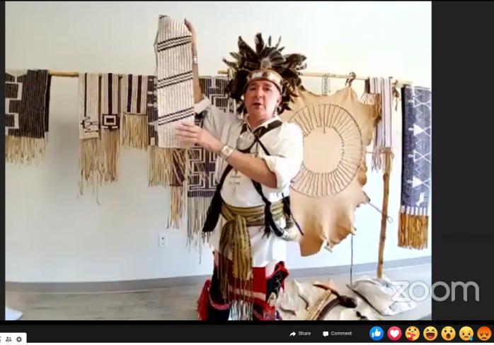 Darren Bonaparte, on FB Live.