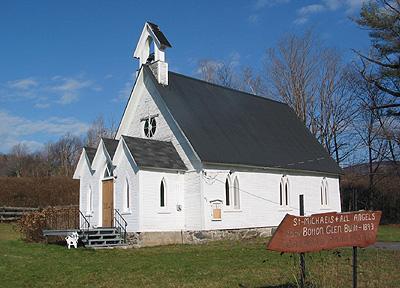 Église anglicane St. Michael's, Bolton Glen, Bolton Ouest / St. Michael's Anglican Church, Bolton Glen, West Bolton