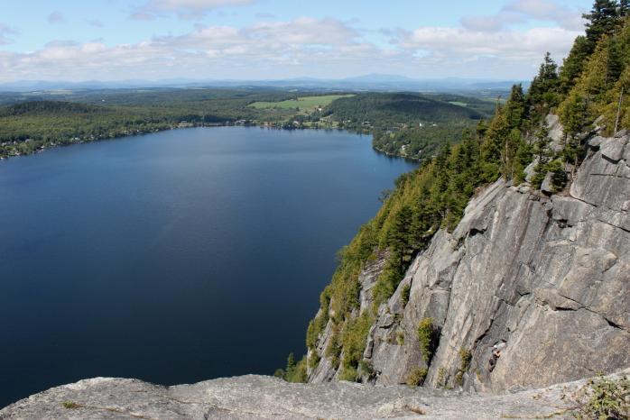 Lake Lyster, from the summit of Mount Pinacle