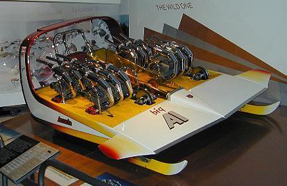 Modèle futuriste crée par  l'inventeur de la Batmobile / Futuristic model by the creator of the Batmobile
