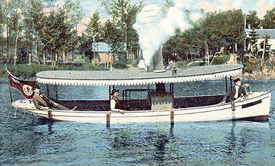Près de l'île St-Hébert - rivière Saint-François (v. 1906) / Near St. Hebert Island, St. Francis River (c.1906)