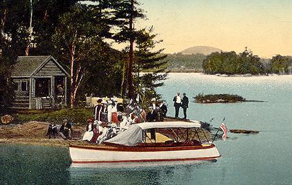 Île Cove - lac Memphrémagog (v. 1905) / Cove Island, Lake Memphremagog (c.1905)