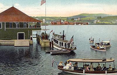 Régates / Regatta, Memphremagog Yacht Club (1908)