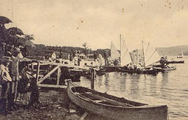Régates / Regatta, North Hatley (1908)