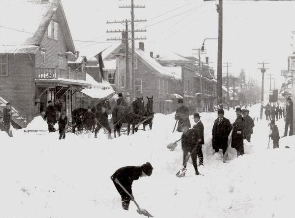 Richmond, May 1898. (Photo - Richmond County Historical Society)