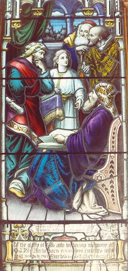 Jésus interroge les docteurs dans le temple / Jesus Questions the Doctors in the Temple