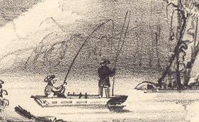 "Pêche au lac Baldwin / ""Fishing Ground, Baldwin's Lake"""