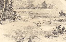 "Chemin Coaticook entre Coaticook et Compton / ""View on the Coaticook Road leading from Coaticook to Compton"""