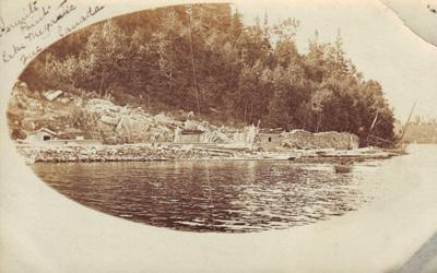 Pointe de l'ermite, Lac Mégantic / Hermit Point, Lake Megantic