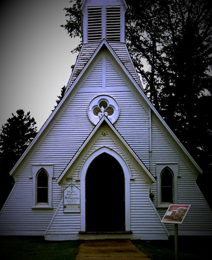 Église anglicane / Anglican Church, Lac-Mégantic