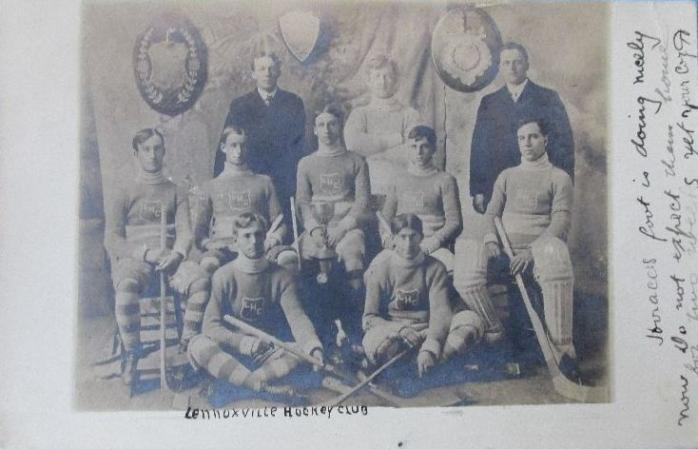 Club de hockey Lennoxville, vers 1905 / Lennoxville Hockey Club, c.1905