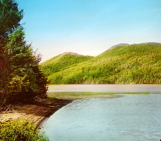 Lake Massawippi (1897). Photo - M. Farfan Collection