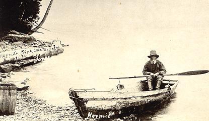 L'ermite du lac Mégantic, v. 1910 / The Hermit of Lake Megantic, c.1910