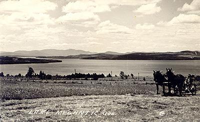 Lac Mégantic, v. années 1920 / Lake Megantic, c.1920s