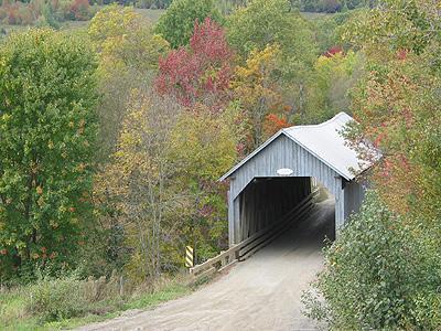 Pont couvert / Covered bridge, Eustis
