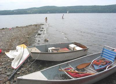 La barre, Ile de la Province / Sandbar, Province Island