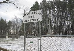 Cimetière Apple Grove / Apple Grove Cemetery, Ogden