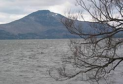 Owl's Head, de la baie Harvey, lac Memphrémagog / Owl's Head from Harvey's Bay, Lake Memphremagog