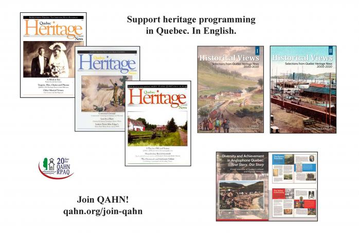 Support Heritage programming in Quebec. In English!