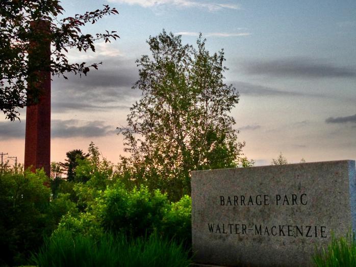 Barrage Parc Walter-MacKenzie, Scotstown