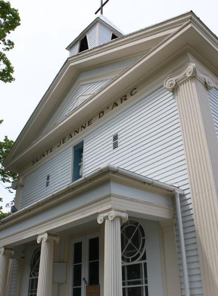 Ancienne banque Baker, et plus tard église catholique Sainte-Jeanne-d'Arc / Former Baker Bank, and later Sainte-Jeanne-d'Arc Catholic Church (1861)