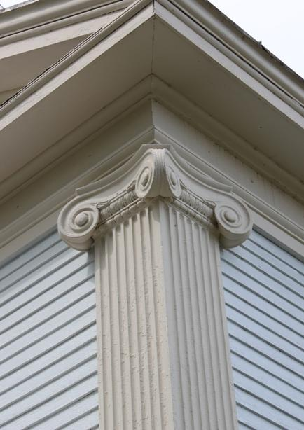 Détail, ancienne banque Baker / Detail, former Baker Bank
