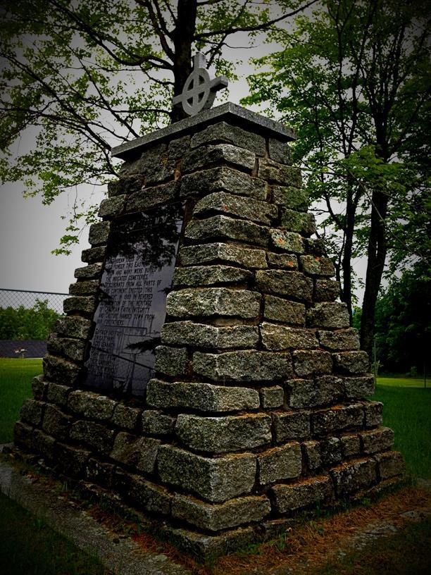 Cimetière Winslow à Stornoway / Cairn, Winslow Cemetery, Stornoway