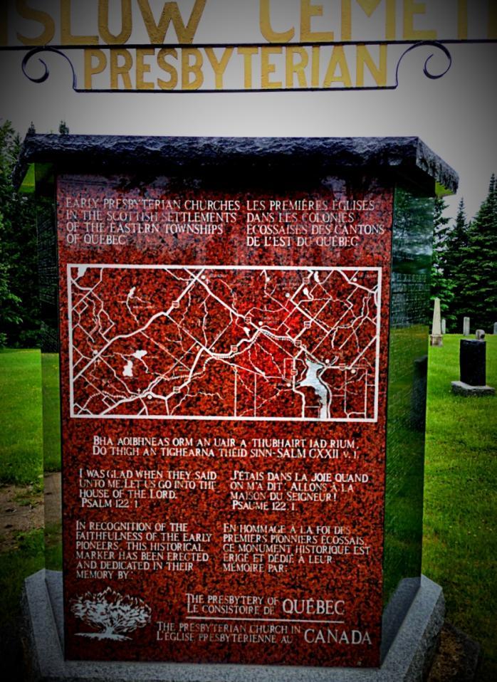 Monument, Cimetière Winslow / Monument, Winslow Cemetery, Stornoway