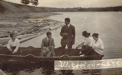 Sur le lac / On the lake, 1915