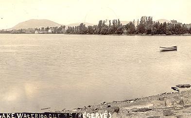 Lac Waterloo, v. 1930 / Lake Waterloo, c.1930