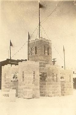 Palais de glace / Ice palace, Sherbrooke, 1930