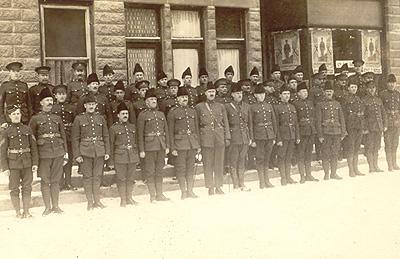 Peloton de Richmond / Richmond Platoon, 117th Eastern Townships Battalion, 1915