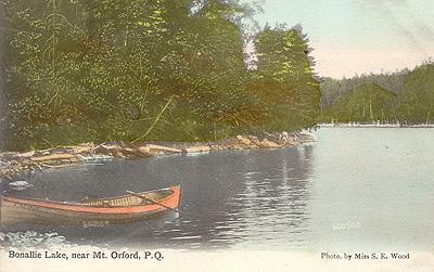 Lac Bonallie, près de Mont Orford / Lake Bonallie, near Mount Orford