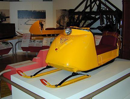 Ancien modèle de SkiDoo / Early SkiDoo