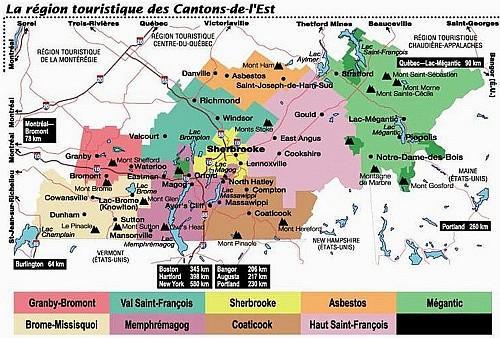 Eastern Townships Tourism Region / Région touristique des Cantons-de-l'Est