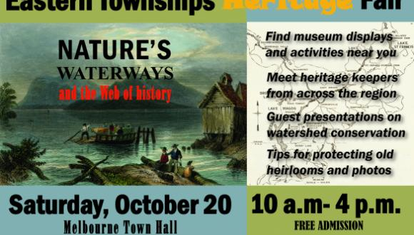 2nd Annual Eastern Townships Heritage Fair (Melbourne, Qc., October 20, 2018)