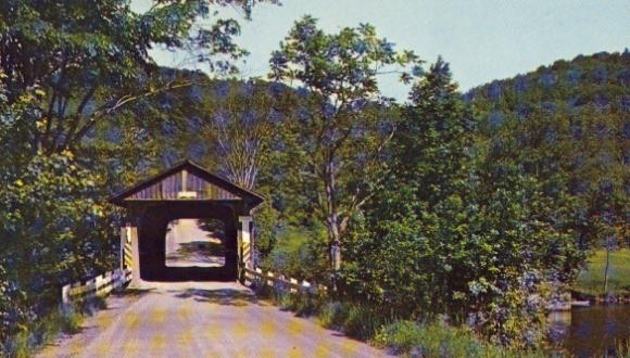Pont Narrows, vers 1970. (Collection M. Farfan)
