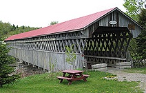 Covered bridge, Gould. (Photo - Matthew Farfan)